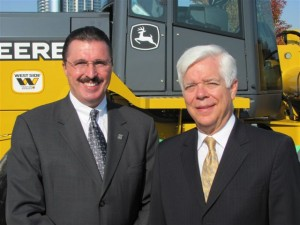 Dennis Slater, AEM (left) and Toby Mack, AED.