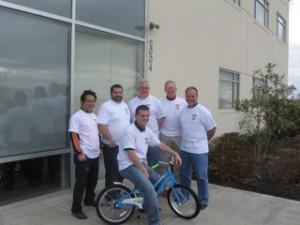 Team Speeder -- First Place