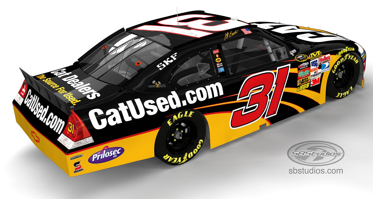 CatUsed® Goes NASCAR Racing « Site-K Construction Zone