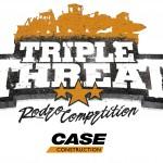 Case Triple Threat Rodeo logo