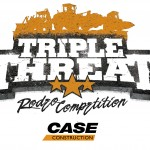 Case Triple Threat Rodeo logo