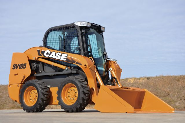 Case Skid Steer : Case launches nine alpha series skid steers with