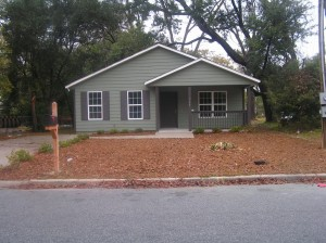 Reames Concrete Co., Valdosta, Ga., is the most recent monthly winner of the Case Community Challenge program, for its commitment to donate materials, labor and the use of construction equipment to a home-building project for the Valdosta-Lowndes County Habitat for Humanity chapter. The finished home will be similar to the home pictured here, which the chapter built in 2010.