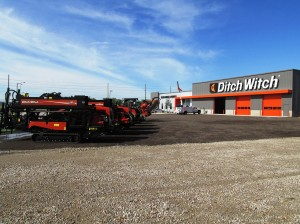Ditch Witch UnderCon welcomes local customers to new dealership location in Park City with an open house.