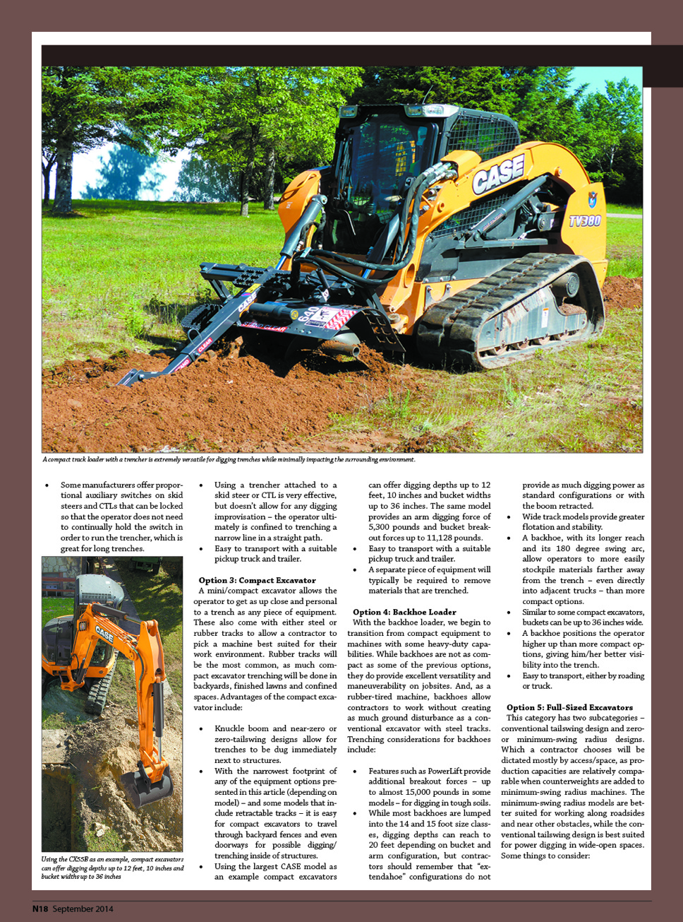 trenching « Site-K Construction Zone