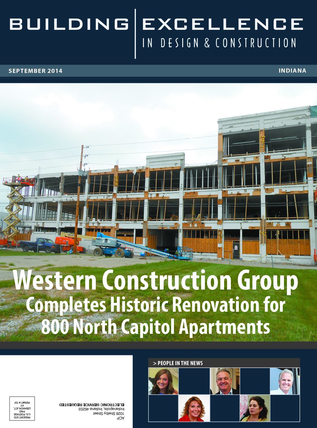 Western Construction Group Completes Historic Renovation for 800 North Capitol Apartments