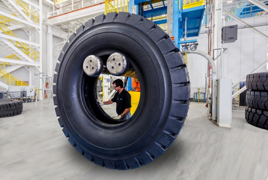Bridgestone Opens First Us Giant Off Road Radial Tire