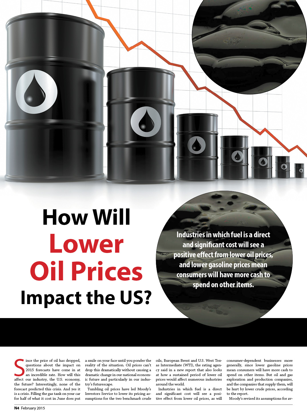 How Will  Lower  Oil Prices  Impact the US? 1