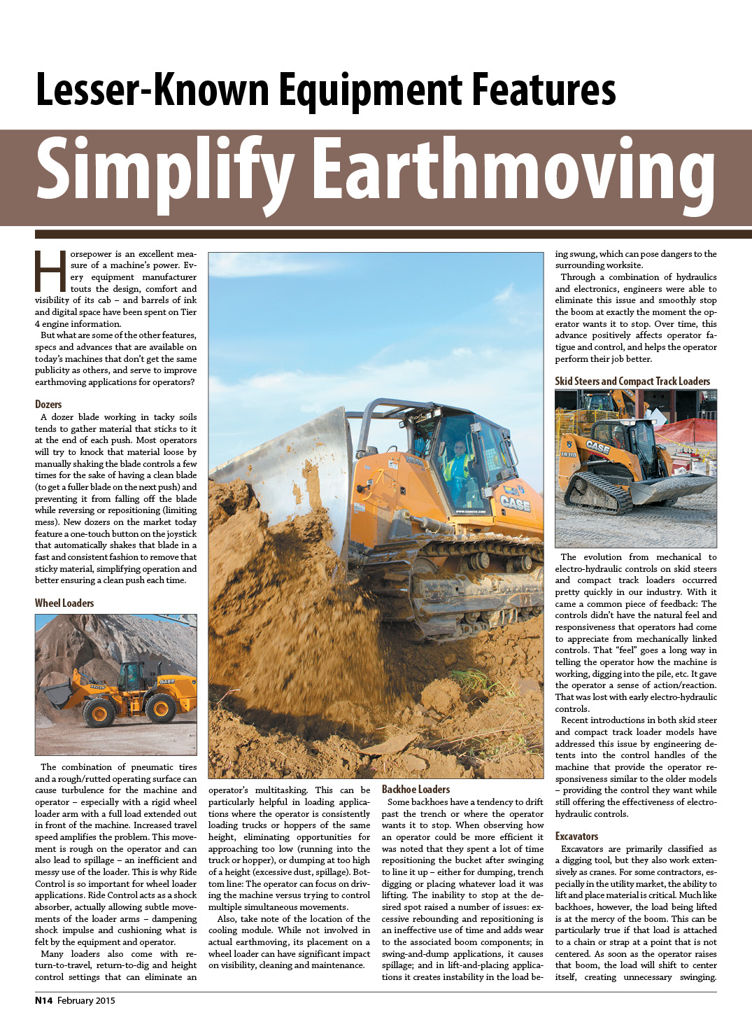 Lesser-Known Equipment Features Simplify Earthmoving 1