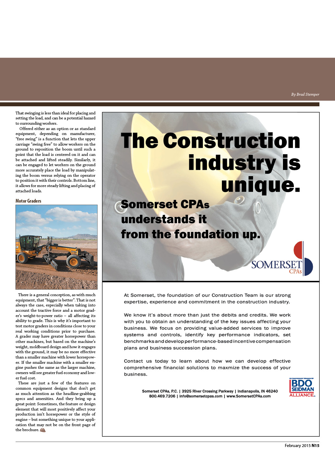 Lesser-Known Equipment Features Simplify Earthmoving 2