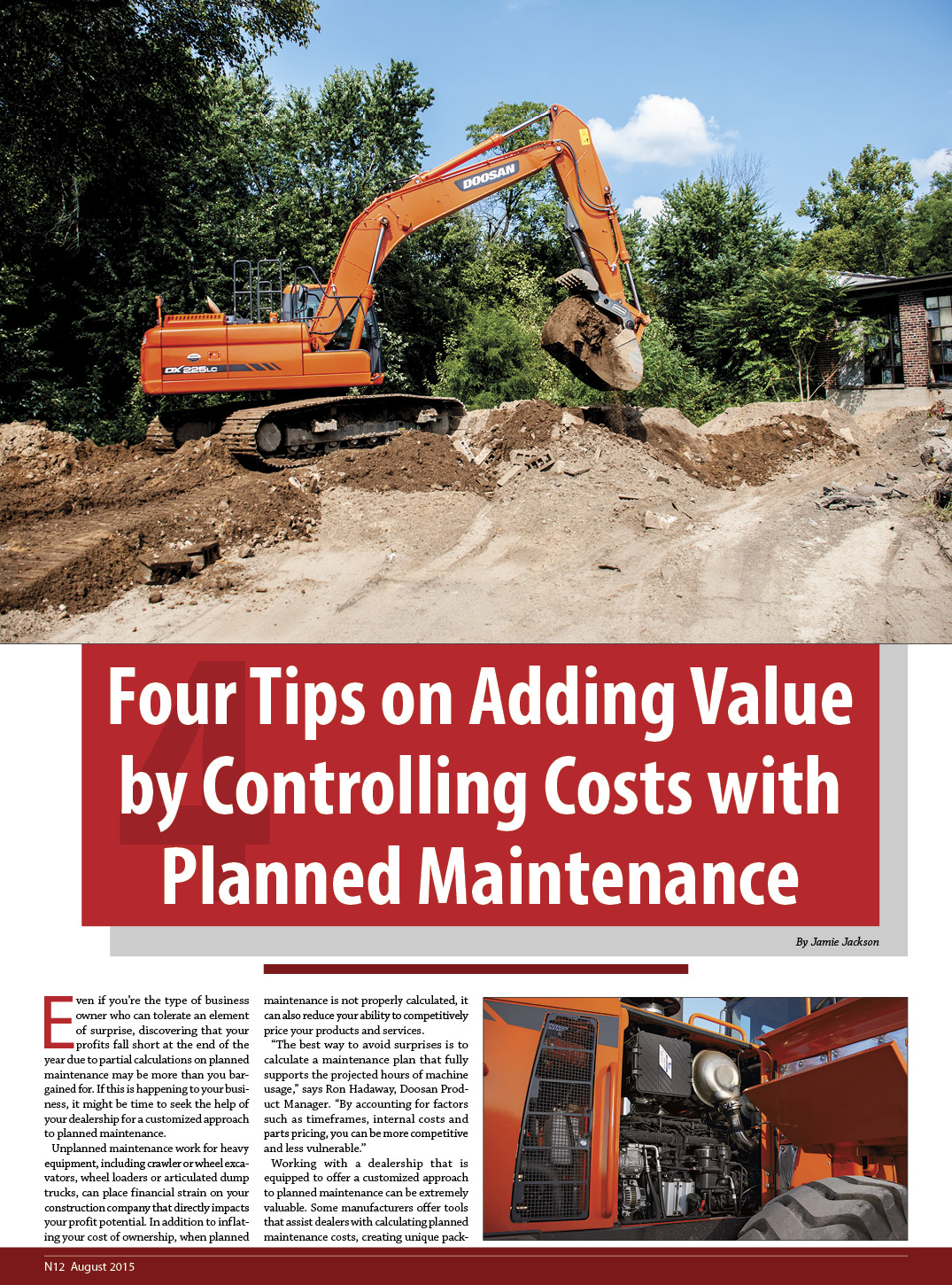 4 Tips...Planned Maintenance 1