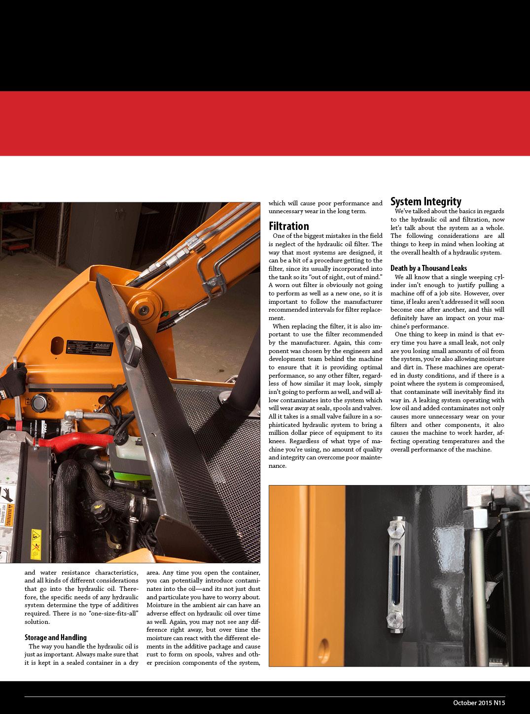 Hydraulic Maintenance 2