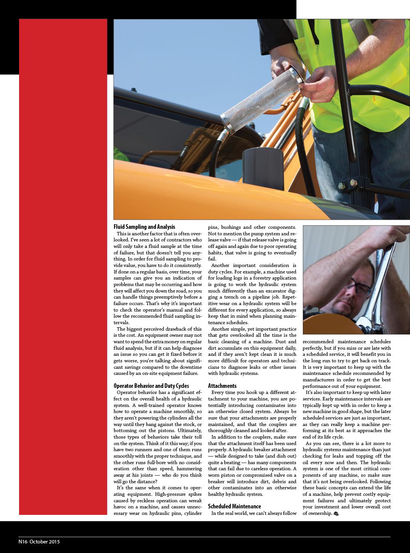 Hydraulic Maintenance 3