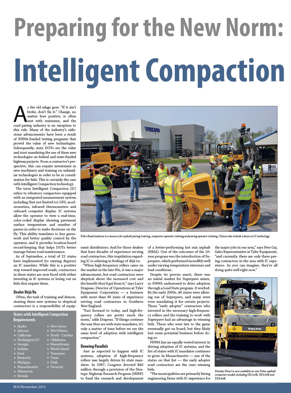 Intelligent Compaction