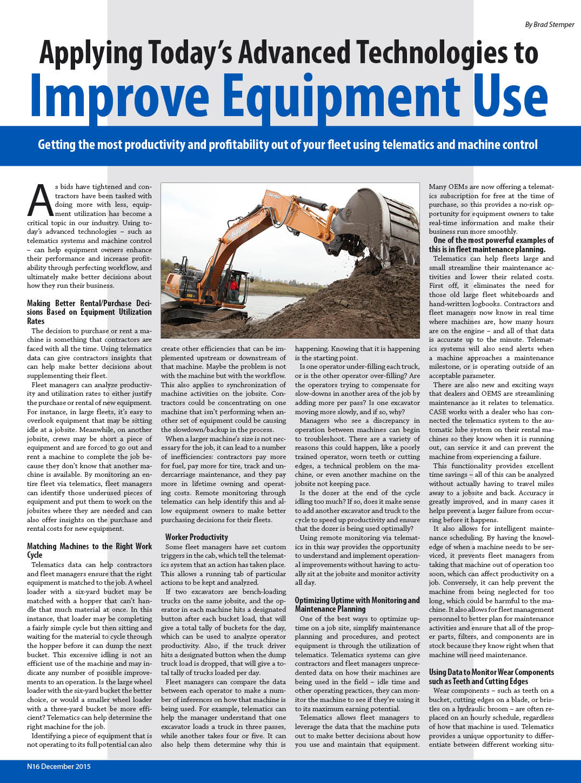 Improve Equipment