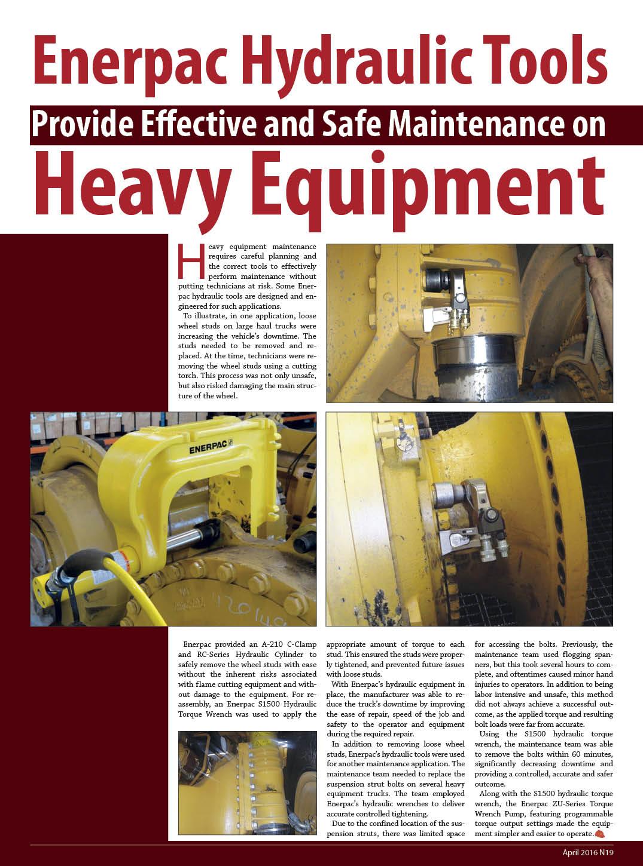 Enerpac Hydraulic Tool