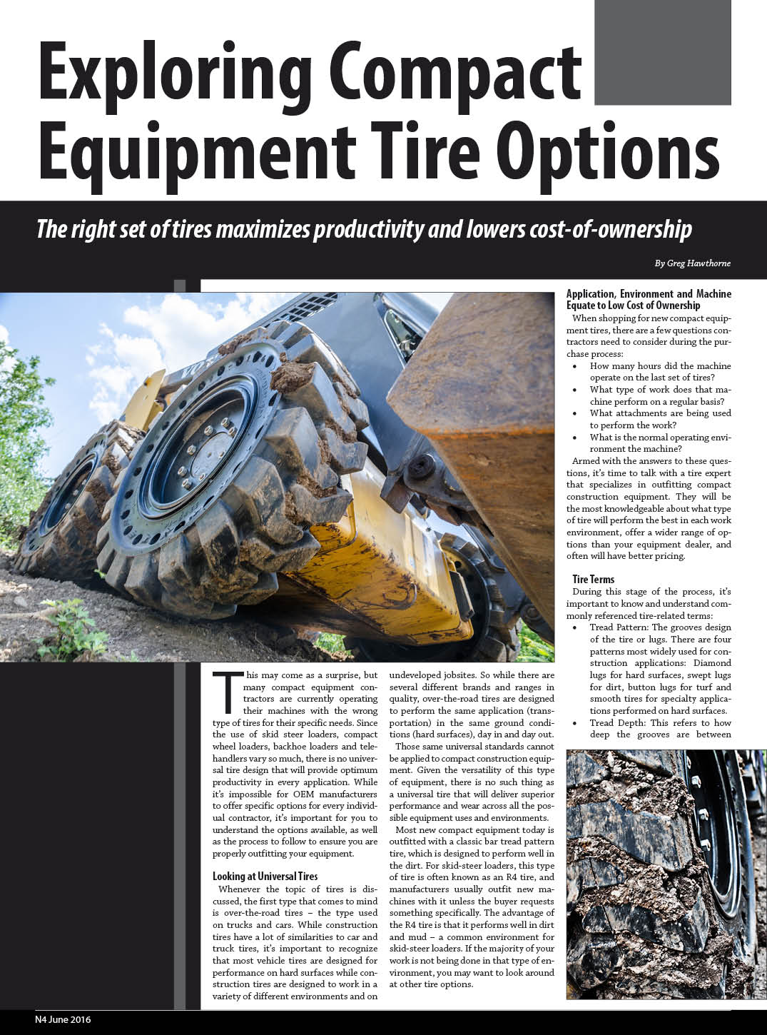 Compact Tire Options