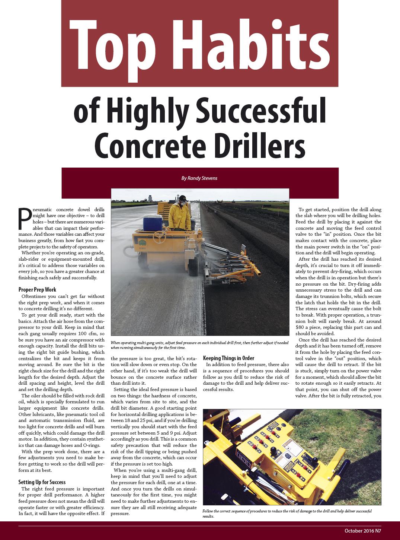 concretedrillerhabits